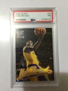 1996 Ultra Kobe Bryant Rookie RC #52 PSA 7 📈