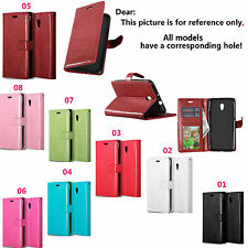 DK For BQ Sony Alcatel Moto Lenovo Phone Luxury Wallet Card Leather Case Cover