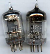 5654 6AK5W~TV-7D/U Tested~ Guaranteed Good! ~TWO VACUUM TUBES 6J1 EF95 LittleDot