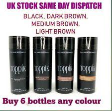 Toppik Hair Building Fibres 27.5 - Buy 6 Bottles Any Colour (Cheapest On ebay)