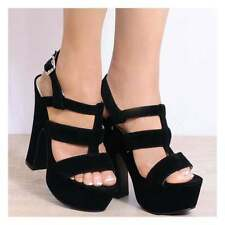 Very High (4.5 in. and Up) Suede Sandals Heels for Women