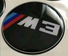 4x BMW M3 Aufkleber Nabendeckel Nabenkappen Radkappen 60mm