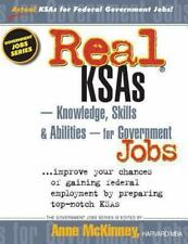 Real KSAs -- Knowledge, Skills & Abilities -- for Government Jobs-ExLibrary