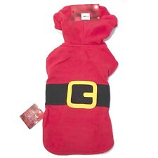 New listing � Pet Jammies For Your Families Santa Suit Microfleece Bodysuit Small Dog Pjs