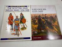Scottish Military History: Osprey Publishing Galloglass 1250-1600 Paperback 2010