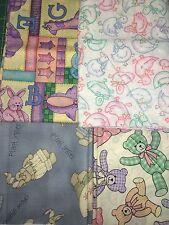 COTTON SCRAP BAGS- Children's Fabric Animals