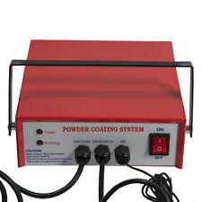 Electric Powder Coating System Pc03 2 110v Powder Paint Spray Gun Us Plug Red