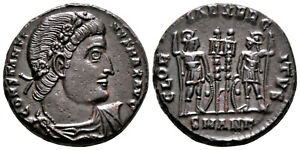 CONSTANTINE THE GREAT (330-335 AD) Ae3 Follis. Antioch #CA 7676