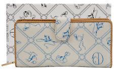Blaue Frauen Geldbörse Portemonnaie Giulia Pieralli 5003 Damen Geldbeutel