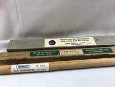 3 Antique Lab Scientific Pfizer's Hydrometer Thermometer In Org. Box