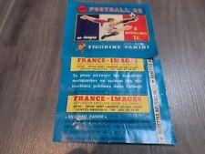 pochette  foot   panini  french  83  sealed