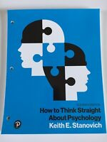 What's New in Psychology How to Think Straight about Psychology Eleventh Edition