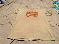 Nike Women's Gray Short Sleeve Shirt. Size Medium  FREE SHIPPING