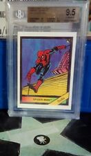 1987 Comic Images Solo Spider-Man BVG 9.5 Top Grade