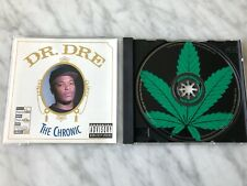 "Dr. Dre The Chronic CD Original 1992 Priority 16 Tracks w/Hidden Track ""Bitches"""