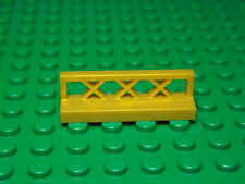 Lego NEW pearl gold 1 x 4 x 1 fence pieces   Lot of 4