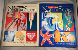 Ranger Rick's Nature Scope: Geology The Active Earth And Diving Into Oceans 1998