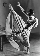 Martha Graham Dance on Film new DVD 2007 Criterion Collection fast free shipping