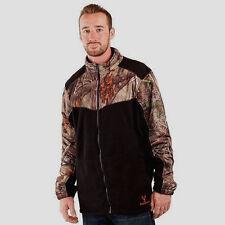 NWT Huntworth Men's XL Camo Oaktree EVO Black Insulated Fleece Jacket $112 Value