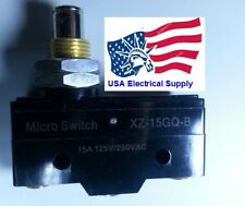 XZ-15GQ-B NO+NC Miniature Micro Switch SPDT Panel Mount Plunger Lever Type