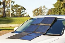 100W Solar Panel Array with Charge Controller & Carry Bag camping caravan
