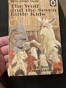 Set Of 10 Vintage Ladybird Books. Snow White. Rumplestiltskin etc