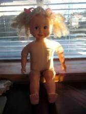 "Playmates ~ Vintage 1985 24"" Vinyl Cloth Cricket Doll w Tape Works #2"
