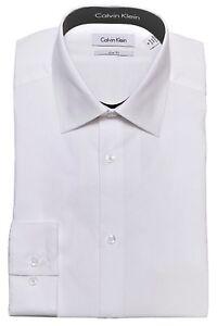 Calvin Klein Tone on Tone Stripe Slim Fit Men Designe Cotton Dress Shirt 33T0476