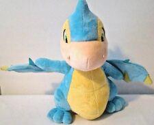 "Neopets Blue Scorchio Blue Dragon Plush Stuffed Animal with Yellow 12"" 2008"
