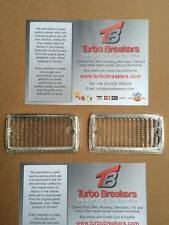 MK 1 Escort 68-75 Clear Front Indicator Lenses with painted Chrome surround