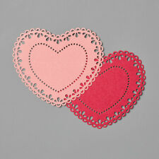 Stampin' Up! Heart Doilies 40 Pieces New
