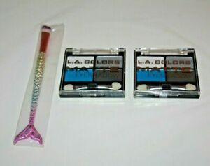 L.A.COLORS MATTE EYESHADOW CEM484 MATT-O-RAMA LOT OF 2 SEALED + GIFT