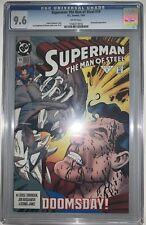 Superman Man of Steel #19 CGC 9.6 Doomsday