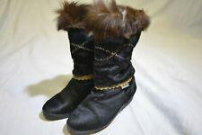 Tecnica Black Fur Winter Woman's Boots 6-6.5/37