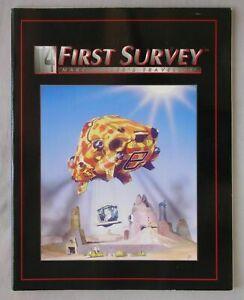 FIRST SURVEY Marc Miller's Traveller T4 IMPERIUM GAMES 1996 RPG BOOK GDW