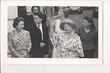 Photo Card Queen Elisabeth II and the Queen Mother