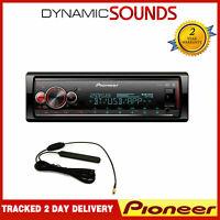 Pioneer MVH-S520DAB Mechless DAB Radio Bluetooth USB Android Car Stereo + Aerial