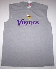 6805abd1c0c Minnesota Vikings NFL Gray Men s Muscle Shirt Size XLarge - With Tags