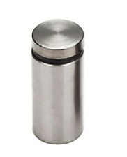 1 in. Dia x 1-3/4 in. L Stainless Steel Standoffs for Signs (19-Pack)