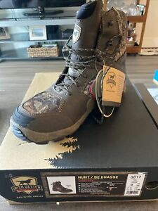 "Irish Setter Vaprtrek 8"" hunting boots - 1200g Insulation - Waterproof - SZ 9"