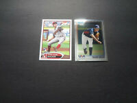 2010 2012 Trevor Bauer Topps Update Bowman Chrome USA Rookie Lot US213 BC1 RC