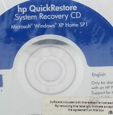 HP Notebook Windows XP Home SP1 QuickRestore System Recovery CDs Sealed 2003