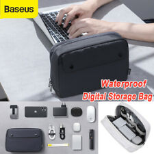 Baseus Electronic Accessories Storage USB Cable Organizer Bag Drive Travel Case