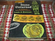 NO STONE UNTURNED by Louis A. Brennan - 1959 HC/DJ - North American Prehistory