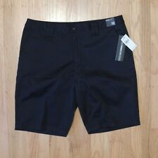 Oneill Contact Stretch Shorts Mens Black Casual Standard Fit Size 36 NEW