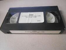 BMW VHS Video Cassette Tape R 1100 S Kundenvideo (GB) #B