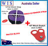 Purple Winch Extension Strap & 10Ton Snatch Block OFF ROAD RECOVERY 4X4 ROPE 4WD