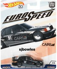 2018 Hot Wheels Car Culture EURO SPEED 1990 MERCEDES-BENZ 190E 2.5-16 mint card!