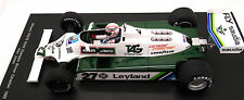 FIGURINE 1/18   ALAN  JONES   POUR  WILLIAMS  F1  SPARK   VROOM   A  PEINDRE