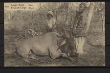 Congo Belge-EP 105-ELAN-ELAND-Sent 1923 from Kibula to Udine,Italie-2scans